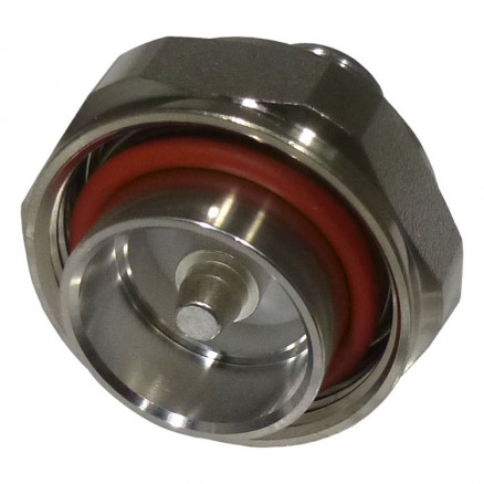 242136  Between Series Adapter, 7/16 DIN Male to Type-N Female, Straight, Amphenol