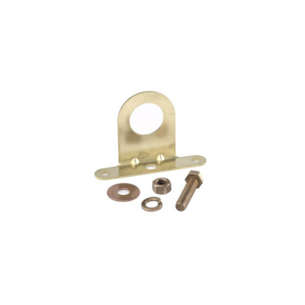 243950 - 7/16 DIN Female Bulkhead Mounting/Grounding Bracket, Andrew