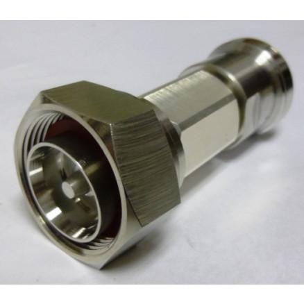 2D5W-30 Fixed Attenuator, 7/16 DIN Male/Female 5 watt, 30dB, Aeroflex