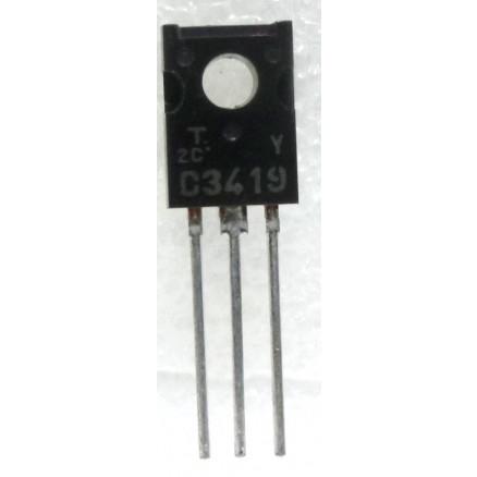 2SC3419Y Transistor, NPN Epitaxial, Toshiba