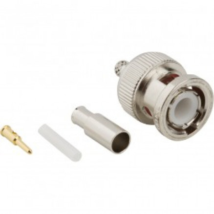 31-315 BNC Male Crimp Connector, Cable Group B, Amphenol