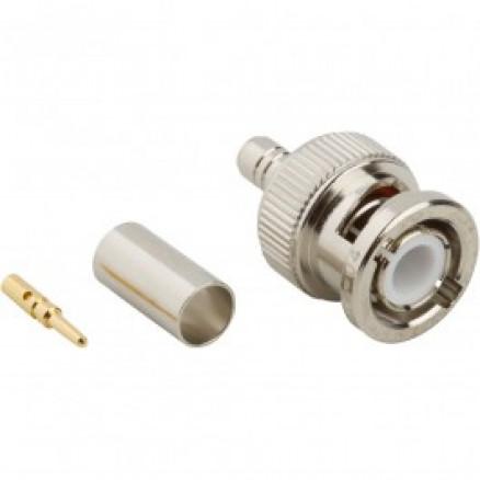 31-326  BNC Male Crimp Connector, Cable Group C1,  Amphenol