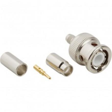 31-5800  BNC Male Crimp Connector, Cable Group C, Amphenol