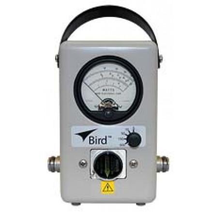 4304A BIRD Wattmeter, 5 Position, 25-1000 MHz, 5-500 Watt, Bird Electronics