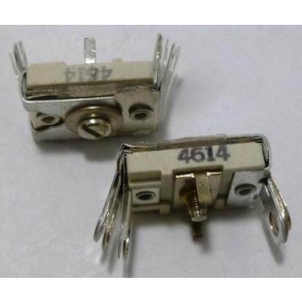 4614 Trimmer, Compression Mica, 380-1300 pF, Arco