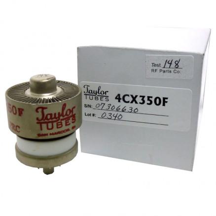 4CX350F / 8322 Taylor Tubes Transmitting Tube, Tetrode, Broadcast / Industrial
