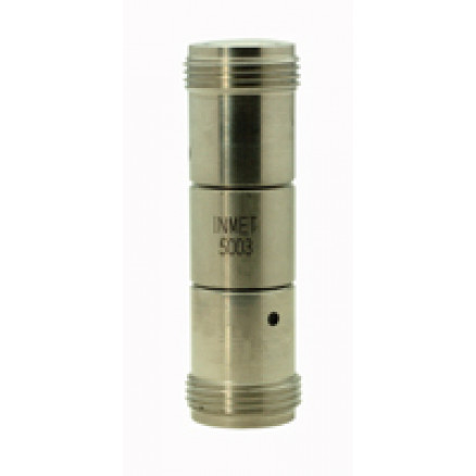 5003 In Series Precision Adapter, Type-N Female to N Female Barrel, 0-18 GHz, API/Inmet