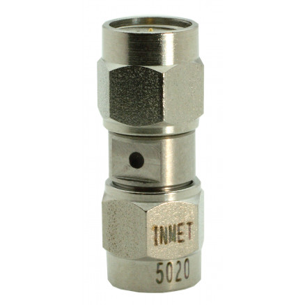 5020 In Series Precision Adapter, SMA Male to Male, API/Inmet