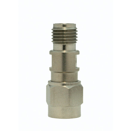 5165  In Series Adapter, SMA Male to Female, DC-26.5 GHz, stainless