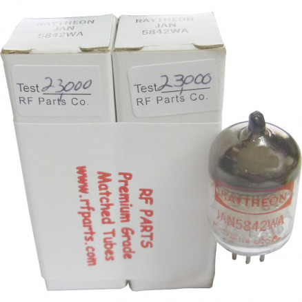 5842WAMP - Matched Pair Low Noise Tube, Raytheon (417A)