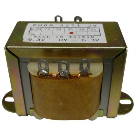 671123  Low voltage transformer, 117VAC/60cps 12.6vct, 1.5 amp, (67-1123) CES