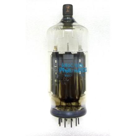 6MJ6/6LQ6-MP  Beam Power Pentode/Sweep Tube, Black Cap, ECG (NOS)