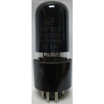 6V6GTMP-SOV Tube, Beam Power Amplifier, Matched Pair, Sovtek