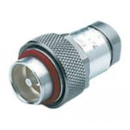 716M50B12X  7/16 DIN Male connector for EC4-50HF Cable, Eupen
