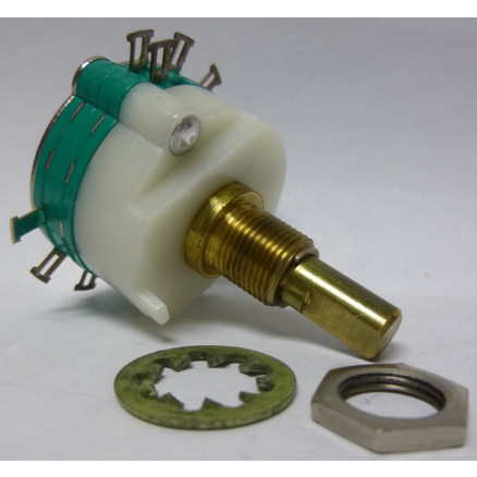 73-1031 Rotary Switch, 2 pole, 4 position, Stackpole