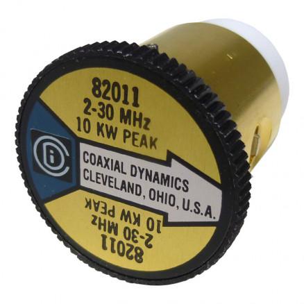 CD82011 Wattmeter element, 2-30 mhz 10000watt, Coaxial Dynamics