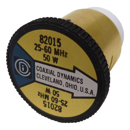 CD82015 wattmeter element, 25-60mhz 50 watt, coaxial dynamics