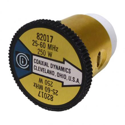 CD82017 wattmeter element, 25-60mhz 250watt, Coaxial Dynamics