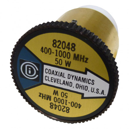 CD82048 wattmeter element, 400-1000    mhz 50watt, Coaxial Dynamics