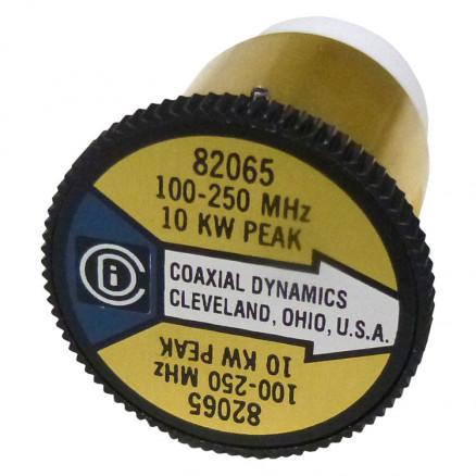 CD82065 Wattmeter element, 100-250 mhz 10kw, Coaxial Dynamics