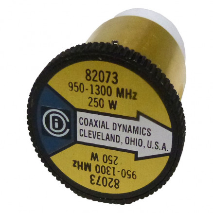 CD82073Wattmeter Element, 950-1300 MHz, 250 watt, Coaxial Dynamics