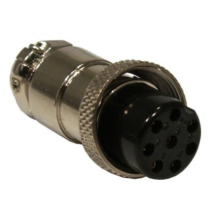 8PINMICPLUG 8 Pin Microphone Plug for Cable side