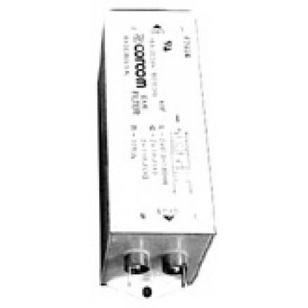 F2924 Filter,emi. 2-section, 15a. 250vac max, Corcom usa