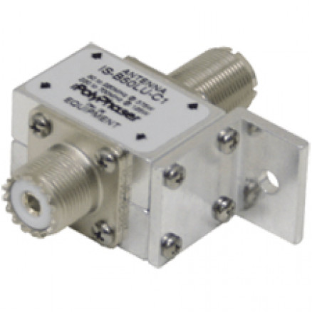IS-B50LU-C1; Polyphaser lightning protect, 50-700 mhz w/uhf females