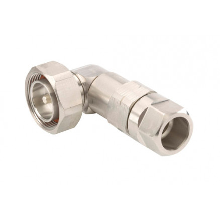 L4DR-PS 7/16 DIN Male, Right Angle, LDF4-50A, Andrew / Commscope