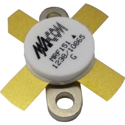 MRF151 RF Power Field-Effect Transistor, 150 W, 50 V, 175 MHz, N-Channel Broadband MOSFET, M/A-COM