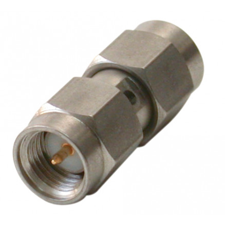P2RSA-3703 In Series Precision adapter, SMA Male to SMA Male, Barrel, RFP2