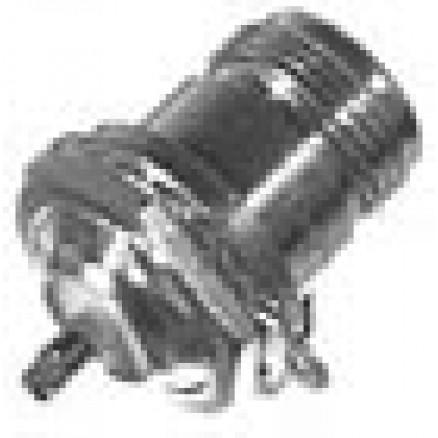 0-RFN1022  Type-N Female Bulkhead Connector, Front mount, No D Flat, RFI