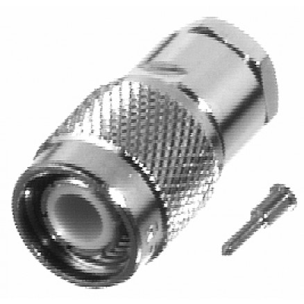 RFT1201-1P TNC Male Clamp Connector, Cable Group: P, RF Industries