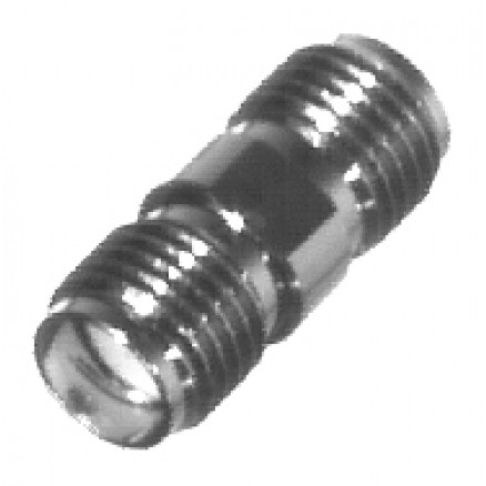 RSA3404 IN Series Adapter, SMA Female to Female, Barrel, RFI