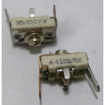 A4102/OX  Trimmer, Compression Mica, 4-20pf, Arco