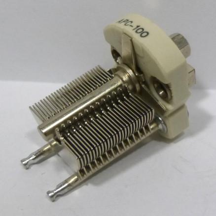 APC100 Variable Capacitor, Panel Mount, 5.5-100 pf, Hammarlund