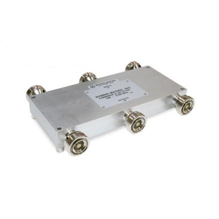 CM-81D Hybrid Matrix 3 x 3 Combiner / Splitter, 700-2700 MHz, 7/16 DIN connectors, Microlab/FXR