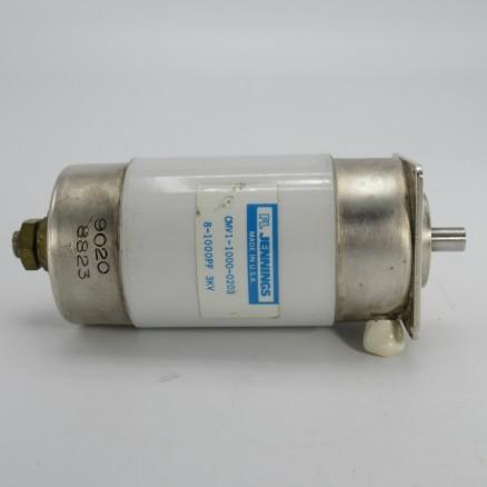 CMV1-1000-0203 Vacuum Variable Capacitor, 8-1000pf, 3kv Peak, Jennings (Clean Used)