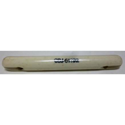 "CSJ61192 Standoff Insulator, Antenna, Glazed Ceramic, 4 1/4"" Long x 1/2"" Diameter"