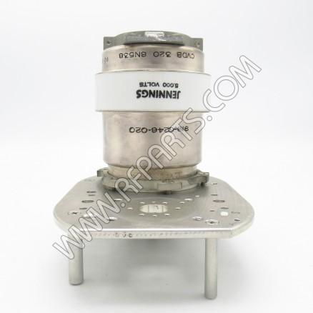 CVDB-320-6N538 Jennings 10-320pF 5kV Variable Vacuum Capacitor (PULL)