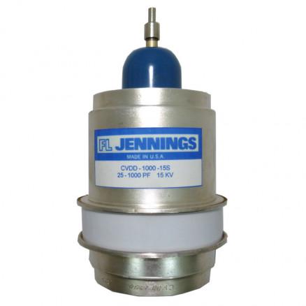 CVDD-1000-15S  Vacuum Variable Capacitor, 20-1000pf, 15kv, Jennings (Clean Used)
