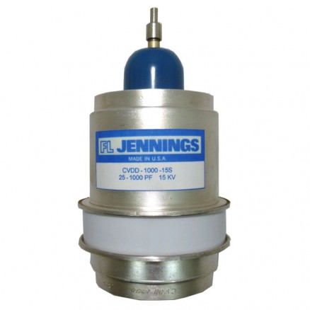 CVDD-1000-15S.  Vacuum Variable Capacitor, 20-1000pf, 15kv, Jennings (Clean Used)