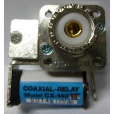 CX140M  Coax Relay, SPDT, UHF Female Connector, Tohtsu