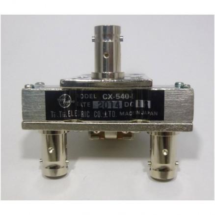 CX540D  Coaxial relay, SPDT, BNC Female, 12v, Tohtsu