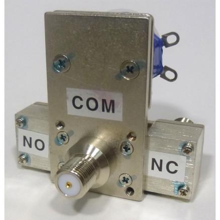 CX550F  Coaxial Relay, 75 ohm, Type F connectors, 12v, Tohtsu