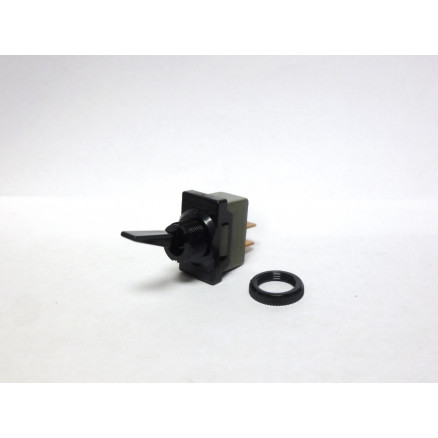 DA101-PB-B  Toggle Switch, SPST, 5a 250vac, Carling