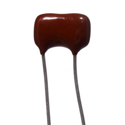 DM15-49-CL Mica capacitor 49pf, Cut leads