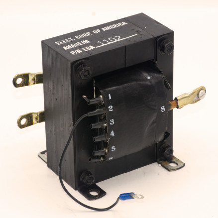 ECA1102 Filament Transformer 200-240vac Primary, 7.5vac 52A pulled from a Henry 3000D Amplifier
