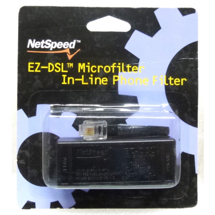 EZ-DSL  Microfilter In-line Phone Filter, NetSpeed