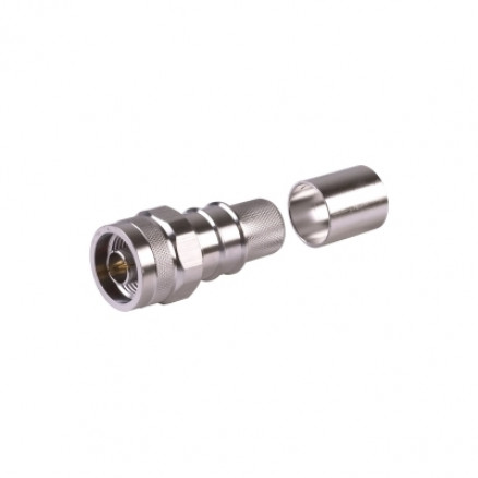 EZ600NMH-X Type-N Male Crimp Connector, Cable Group L2, Times